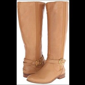 Sperry tan light brown riding boots women size 8M